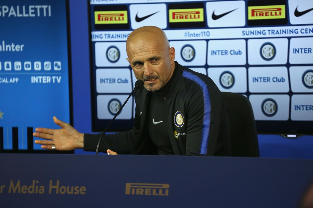 conferenza - spalletti - inter